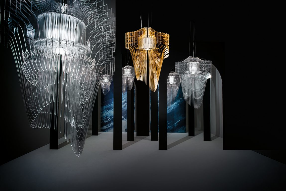Slamp Aria Transparent & Gold