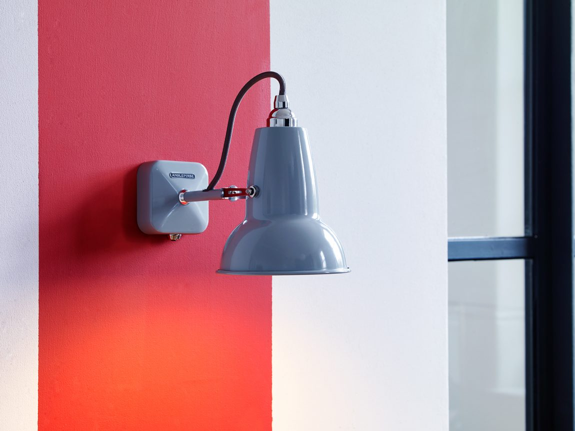 Anglepoise Original 1227 Mini Wall Light – Dove Grey 1